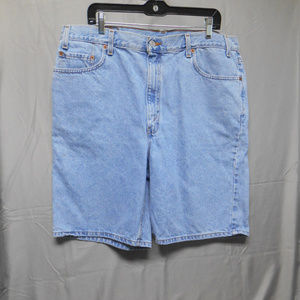 Levis 550 relaxed fit denim shorts mens 40